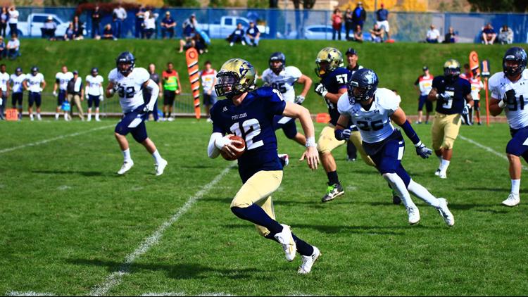 Fort Lewis College football QB breakaway