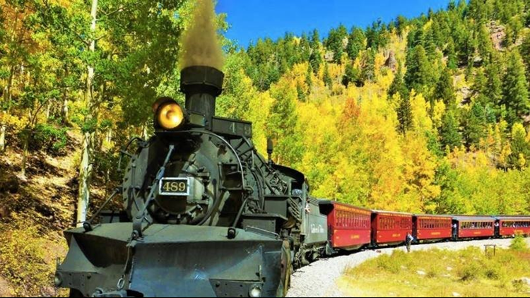 Cumbres & Toltec Scenic Railroad fall