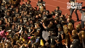 "Arapahoe knocks off No. 9 Heritage, claims ""Milk Jug"" bragging rights"