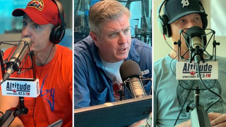 Moser, Lombardi & Kane morning show simulcasts on Altitude Sports |  9news.com