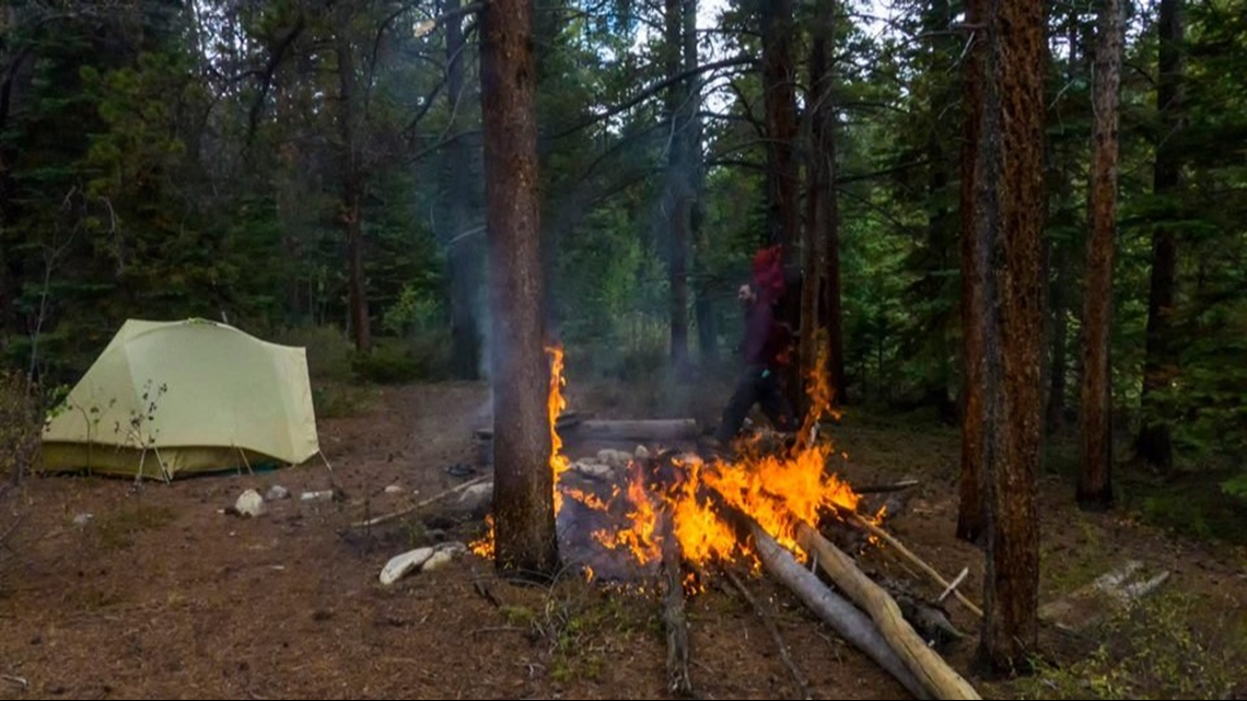 Gas Prices In Colorado >> Man finds campfire that spread to trees, and we're all ...
