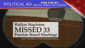Truth Test: Walker Stapleton attendance ad is tardy on context