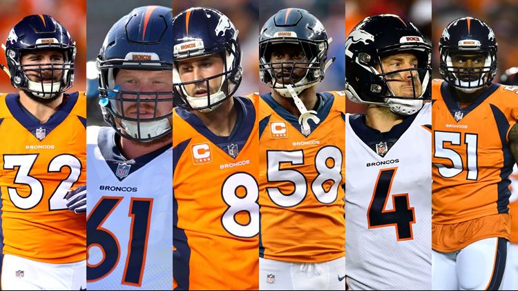 8f91b644a8b5 Denver Broncos announce 2018 team captains