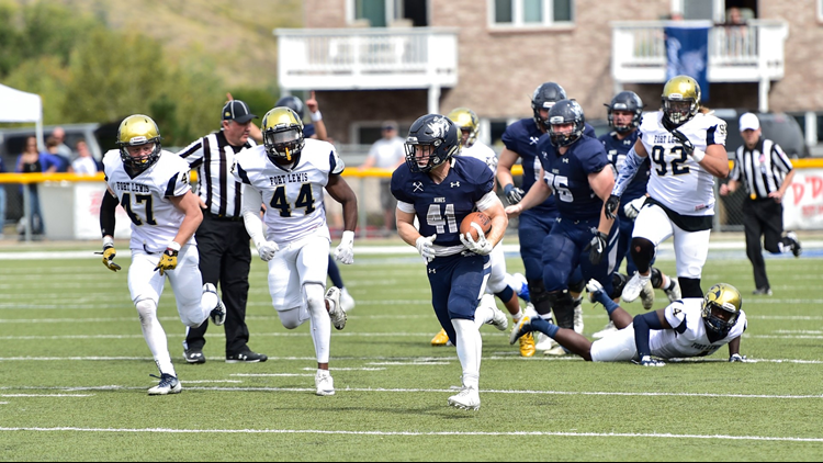 School of Mines football TD