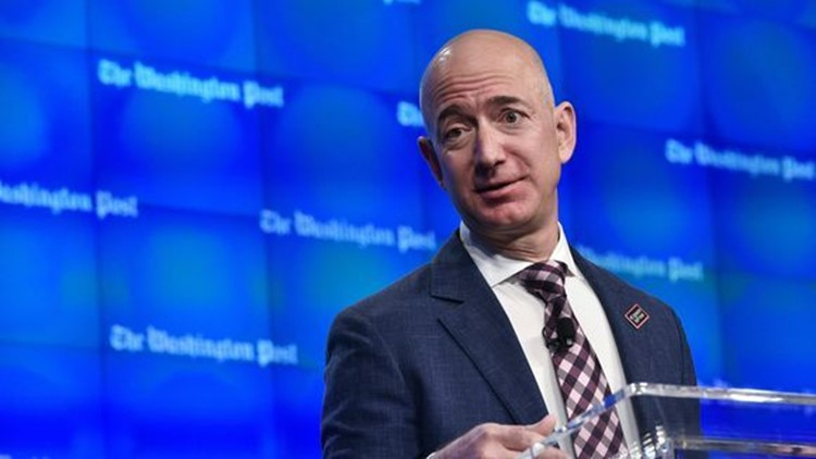 """We will announce a decision before the end of this year,"" Bezos gave as his only response regarding HQ2 at a supremely well-attended dinner marking The Economic Club of Washington, D.C.'s 32nd anniversary. ""We've made tremendous progress. The team is working their butts off on this and we will get there."""