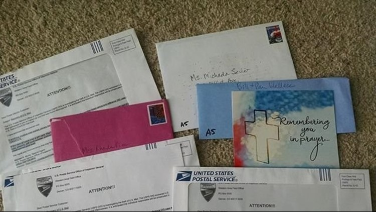 A mail carrier is accused of stealing mail after customers complained that they were not receiving mail.