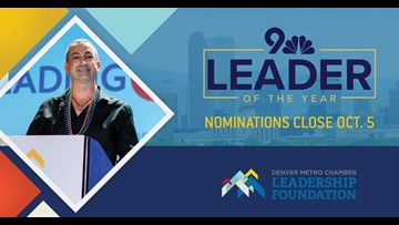 Nominate a leader you know for the 9NEWS Leader of the Year