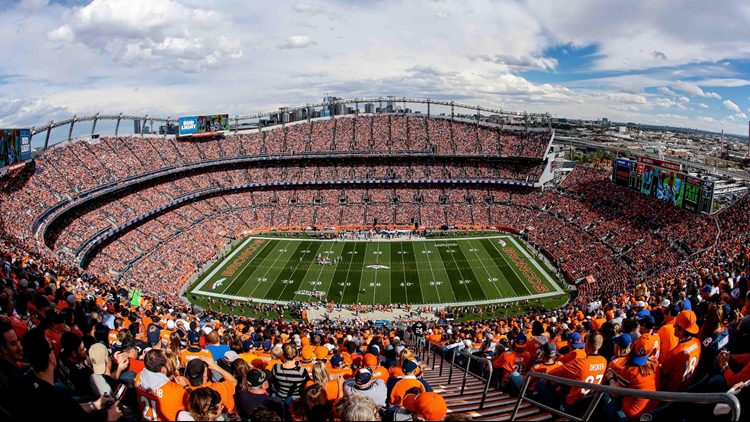 wide shot of Broncos Stadium cropped