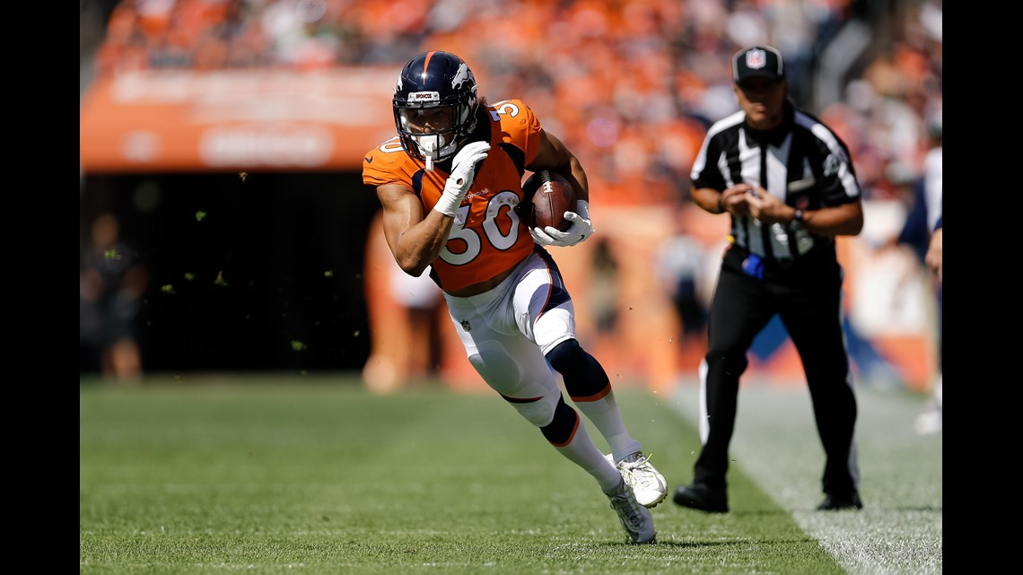 Broncos  rookie Phillip Lindsay makes NFL history with Pro Bowl ... 6db2cf41c