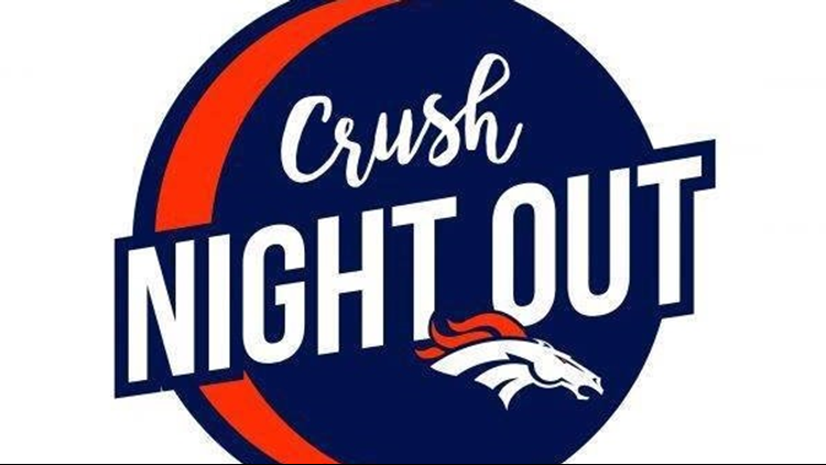 Broncos Crush Night Out