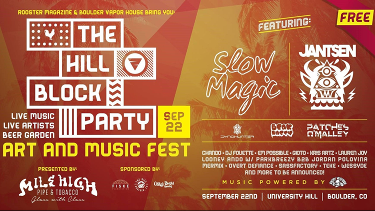 The Hill Block Party 2018