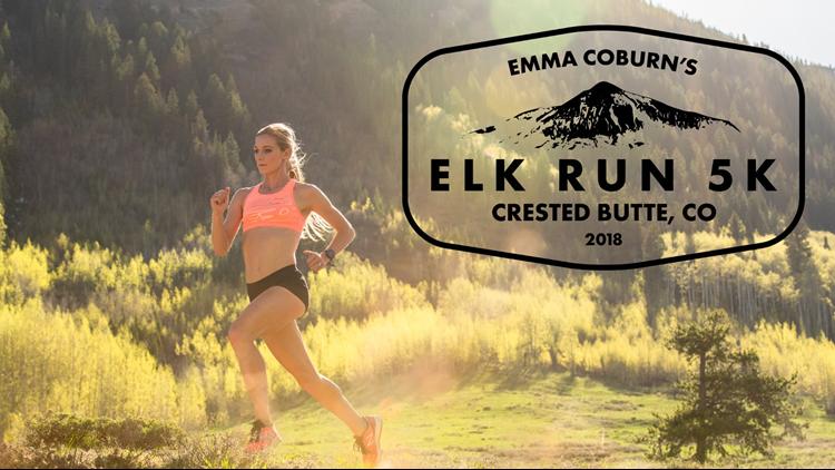 Emma Coburn Elk Run 5k