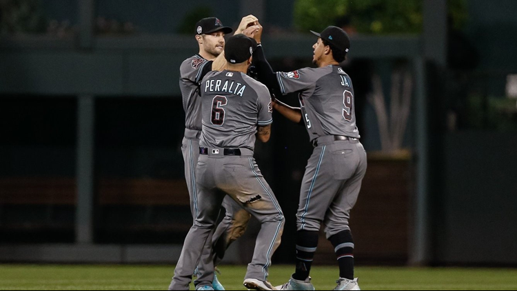 Ketel Marte drove in four runs, including a two-out, two-run triple to break a sixth-inning tie, reliever Yoshihisa Hirano helped Arizona weather a ninth-inning scare for his first big league save and the Diamondbacks pulled closer in the NL West standings by beating the first-place Colorado Rockies 6-3 on Tuesday night.