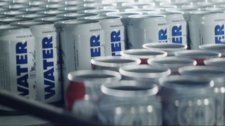 In preparation for Hurricane Florence, Anheuser-Busch is using its Fort Collins facility to can emergency drinking water for disaster relief.