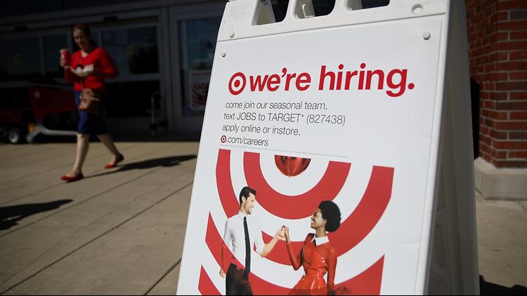 Target store hiring