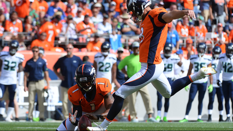 Brandon McManus basically won the game in the Denver Broncos' 27-24 victory over the Seattle Seahawks.