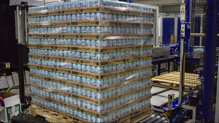 Nearly 60,000 cans of fresh water are on the way to the Carolinas from Colorado to help provide relief following Hurricane Florence.