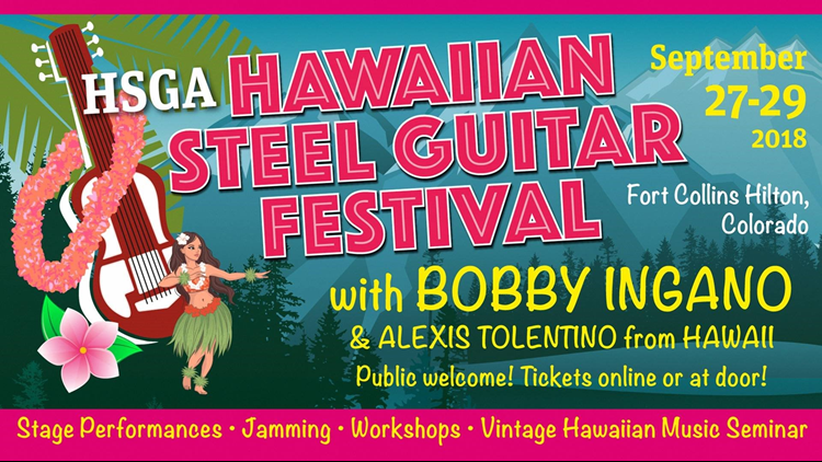 Hawaiian Steel Guitar Festival