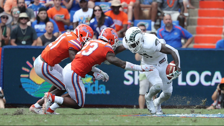 The Colorado State University football team fell to 1-3 on the season following a 48-10 road loss to Florida on Saturday.