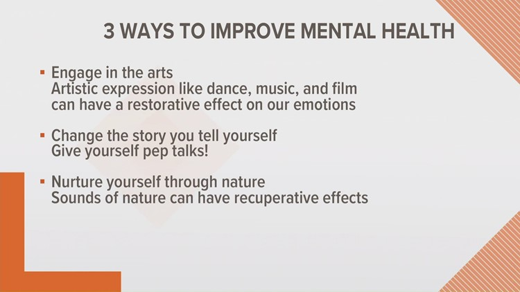 3 ways to improve your mental health