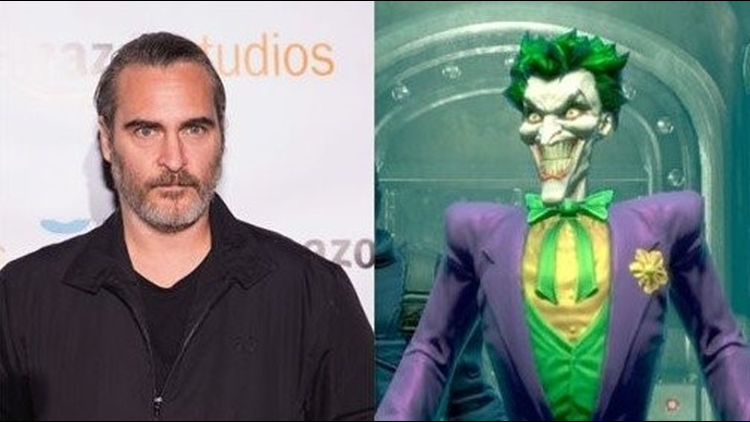 Joaquin Phoenix has quite a look for his standalone Joker movie