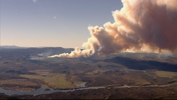 It's September and 10 fires are still burning in Colorado. Here's what's next for October.