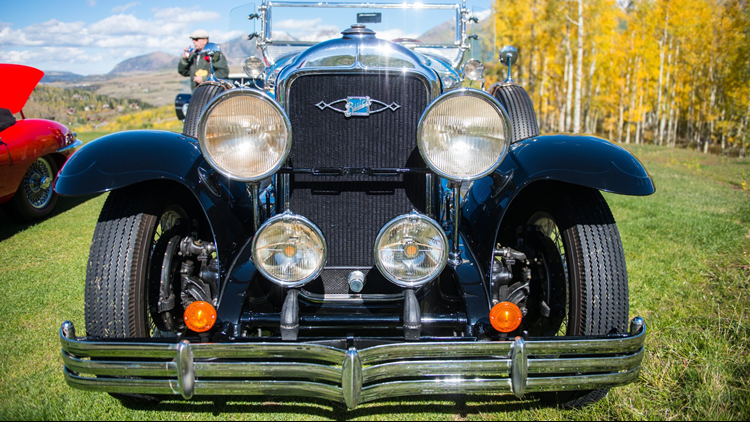 Telluride Festival of Cars & Colors 1
