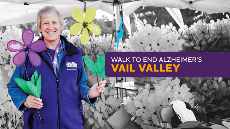 Walk to End Alzheimers Vail Valley