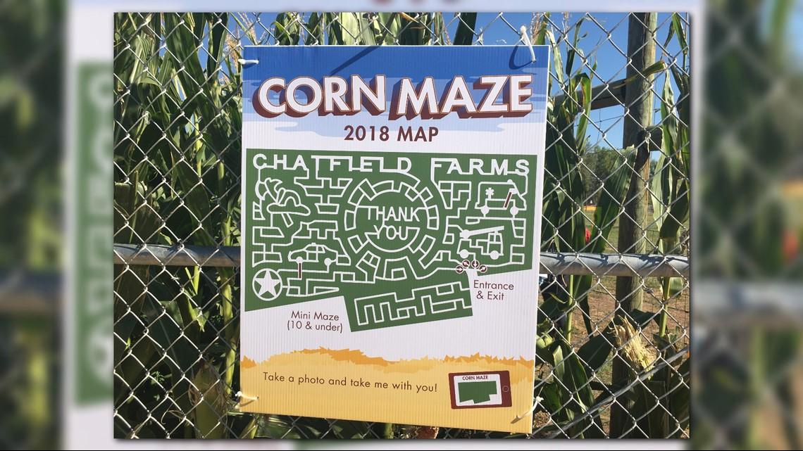 Botanic Gardens Haunted Corn Maze Fasci Garden