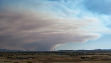 Health officials issue wildfire smoke advisory in Colorado