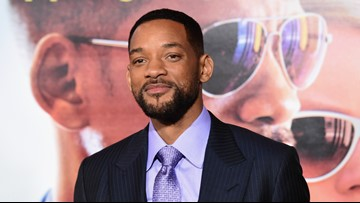 First look! Will Smith makes his debut as 'Aladdin' Genie
