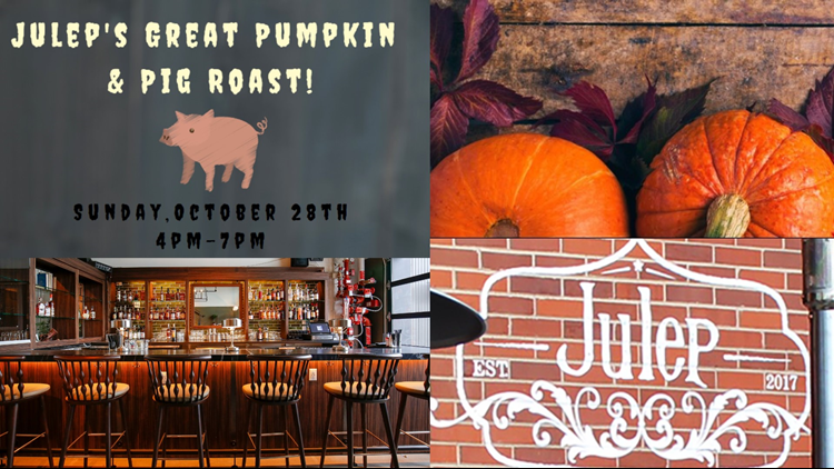 Julep Great Pumpkin Pig Roast