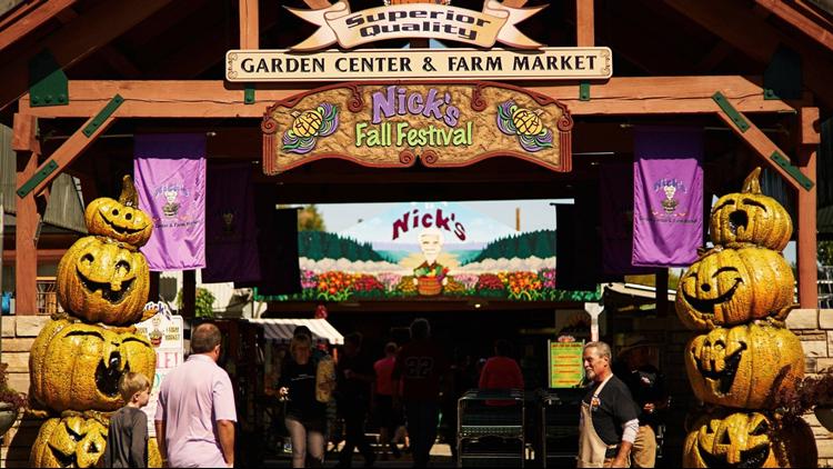 Nicks Garden Center fall fest