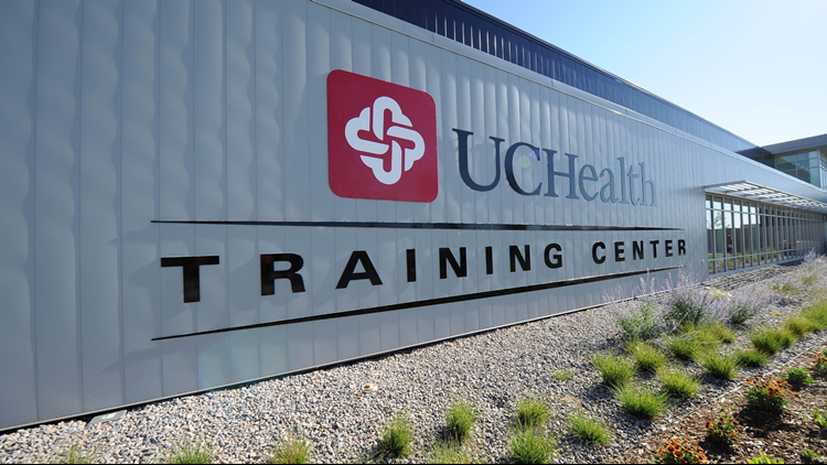UCHealth Training Center sign