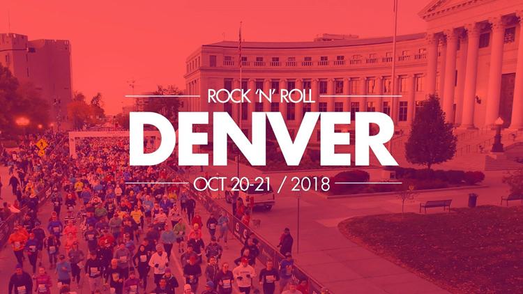 Rock n Roll Denver Half Marathon