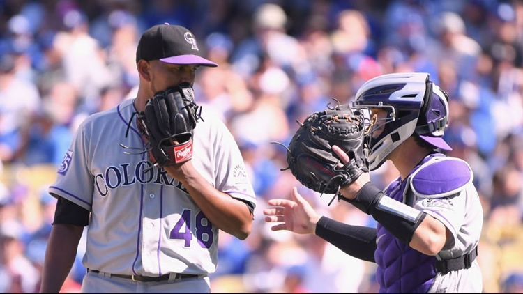 Chicago Cubs vs. Colorado Rockies in NL Wild Card Game