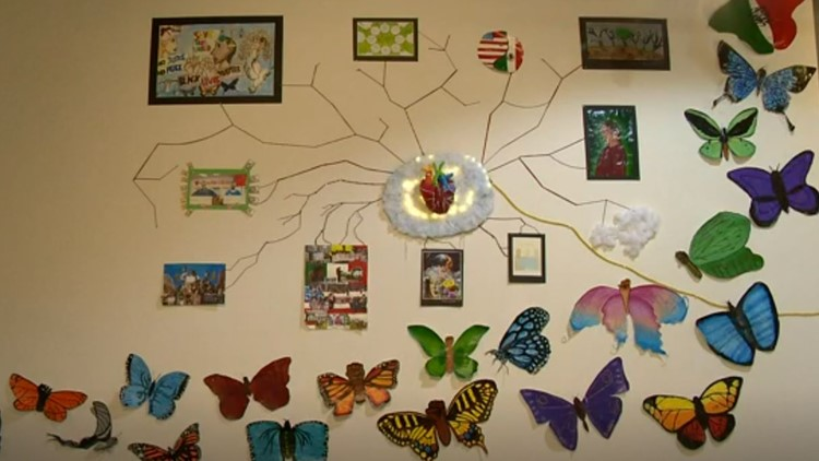 Local students use art to show the world what they saw in a year of change