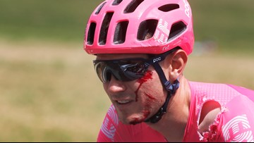 Top American rider Tejay van Garderen out of Tour de France
