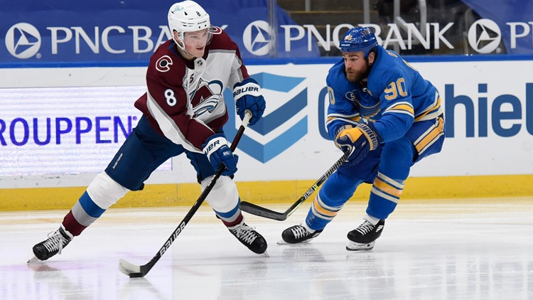 O'Reilly's hat trick leads Blues past Avalanche 5-3