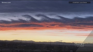 Did you see the wave clouds over Colorado's Front Range?