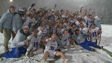Cherry Creek weathers snow storm for 5A lacrosse state championship
