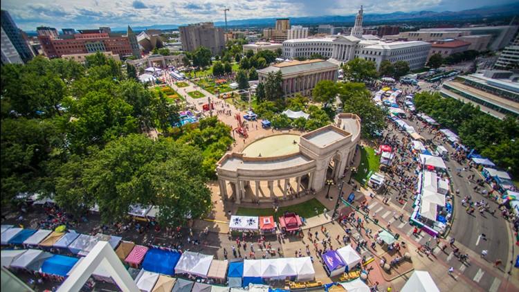 'A Taste of Colorado' — Denver Labor Day weekend tradition