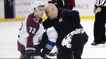 Avalanche react to news Lindgren won't face discipline for hit on Donskoi