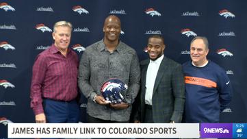 Ju'Wuan James has family link to Colorado sports