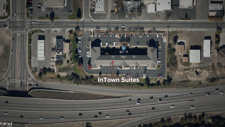 InTown Suites map