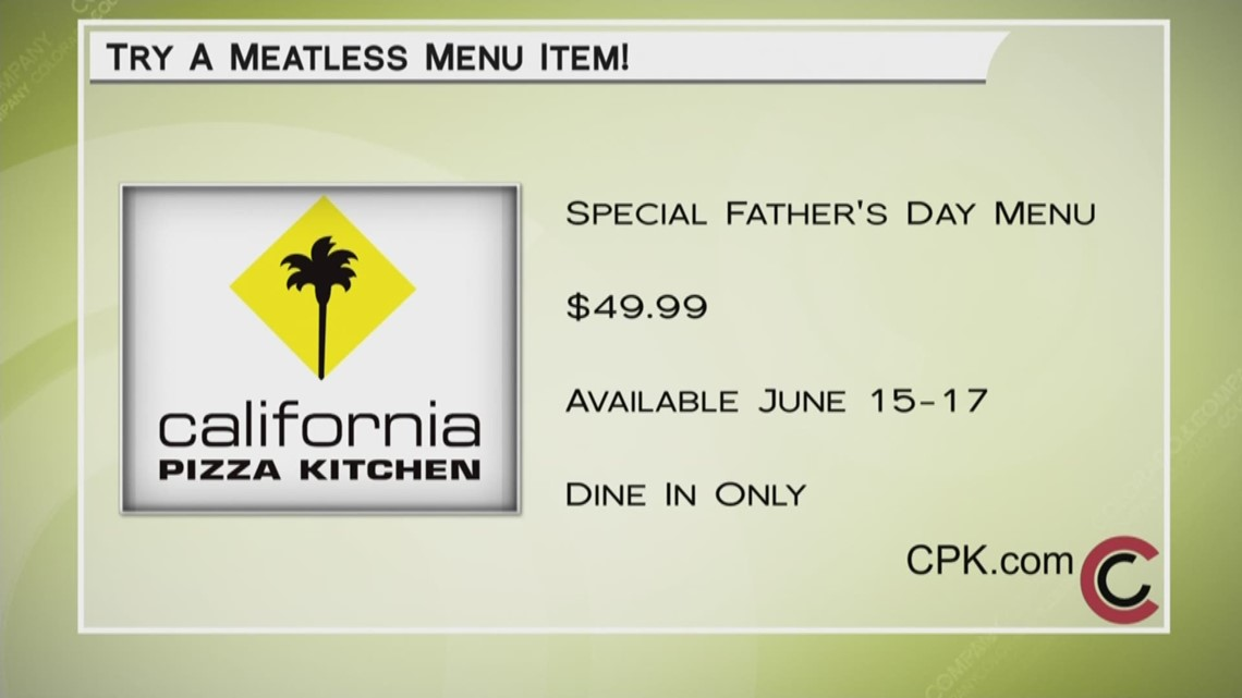 California Pizza Kitchen - June 13, 2018 | 9news.com