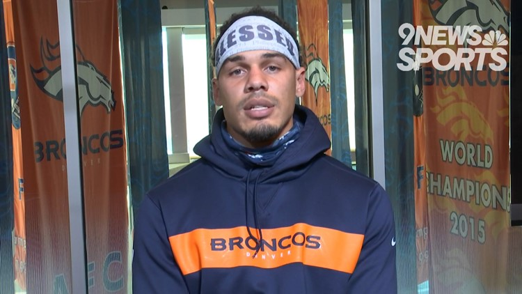 Hometown MVP: Broncos safety Justin Simmons embracing role as leader in social justice movement