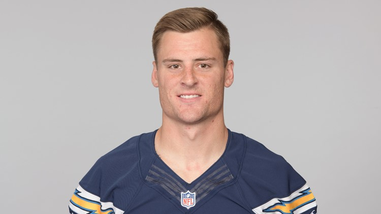 Los Angeles Chargers 2018 Football Headshots Shane Tripucka