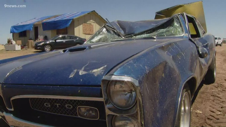 2 families loose homes after tornado in Weld County