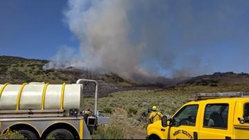 Firefighters battle 165-acre Indian Run Fire in northwest Colorado